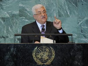 PA/PLO leader Abbas at the UN
