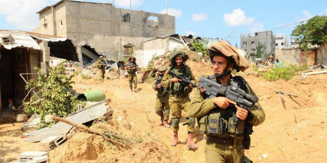IDF soldiers search for terror tunnels in Gaza. (Photo: IDF)
