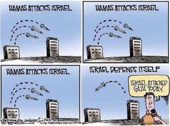 Why is Israel not allowed to defend itself?